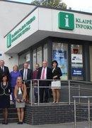 The delegation from Georgia visited by Klaipeda region tourism information center