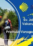Pasaulinei turizmo dienai - Šv. Jokūbo kelio Vakarų Lietuvoje atkarpos Priekulė-Vanagai-Švėkšna atidarymas