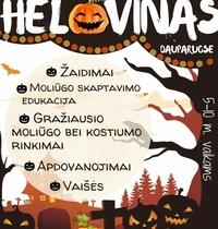 Vabaliuko Helovinas Dauparuose