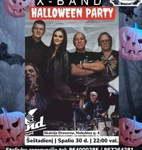 "Halloween Party su grupe ""X-Band"""