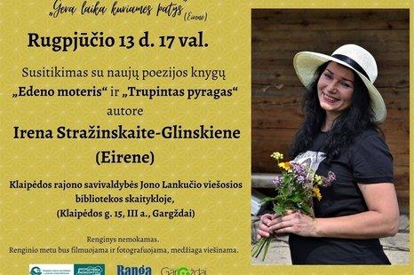 Susitikimas su Irena Stražinskaite-Glinskiene (Eirene)