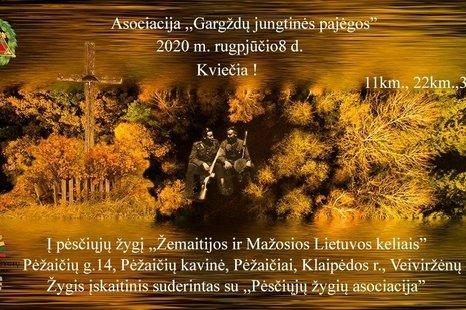 """Pėsčiųjų žygis ,,Žemaitijos ir Mažosios Lietuvos keliais"""""""