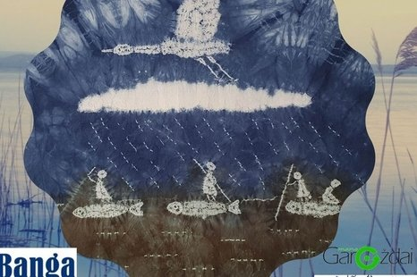 "Autorinės tekstilės paveikslų paroda ""Vandens formos"""