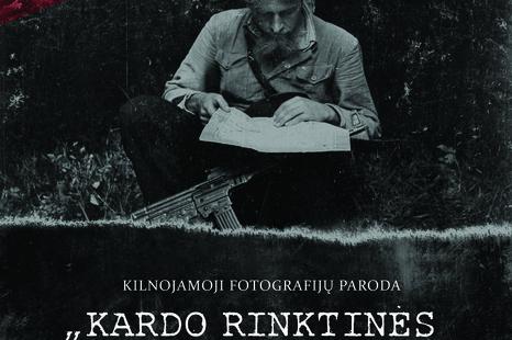 """Fotografijų paroda """"Kardo rinktinės partizanų takais"""""""
