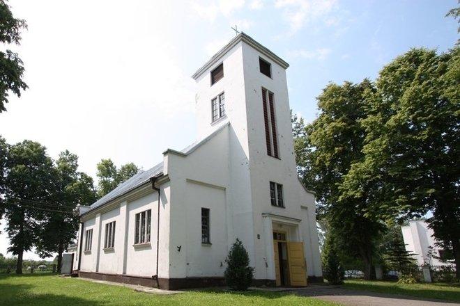 Приекуле ул. Церковь Антанаса Падувиетиса