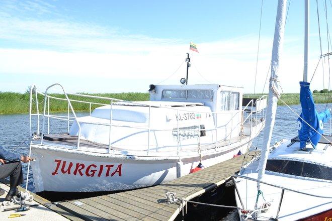 Entertaining sails in Curonian Lagoon