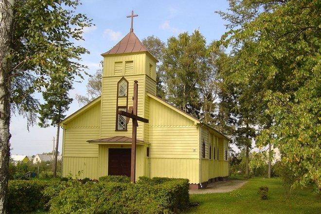 Пликяй ул. Церковь Семьи - Иисуса, Марии и Иосифа