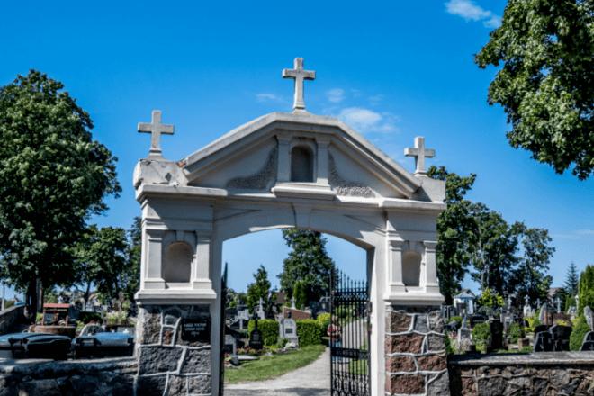 Старое Гаргждайское кладбище