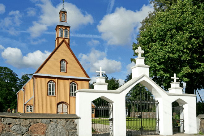 Вейвирженай ул. Церковь Апостола Евангелиста Матфея